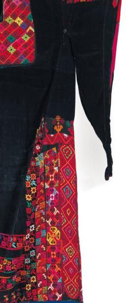 Grande robe de fête, thob kebir, à longues...
