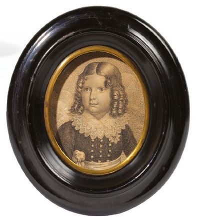 ROI DE ROME. Portrait gravé représentant...