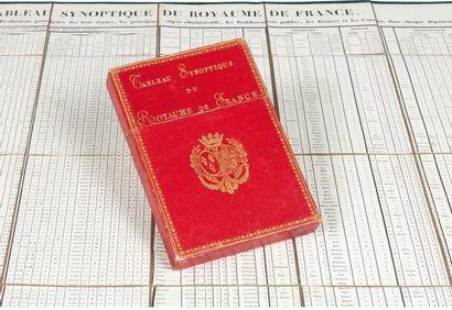 Tableau synoptique du royaume de France,...