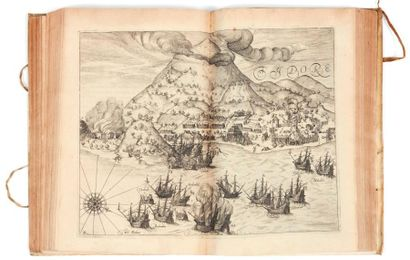 BRY (Théodore de) [Petits Voyages]. Francfort, 1601-1628. 12 livres reliés en 4 volumes...