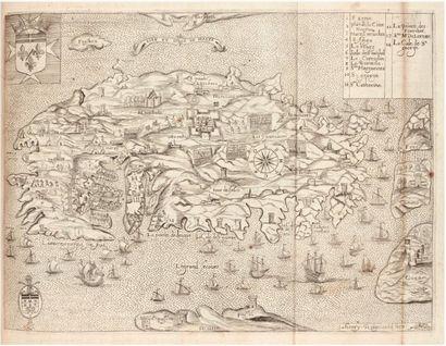 [BOSIO (Giacomo)] Histoire des chevaliers de l'ordre de S. Jean de Hierusalem contenant...