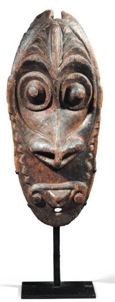 MASCARON Iatmul. Moyen Sépik. Papouasie Nouvelle-Guinée...