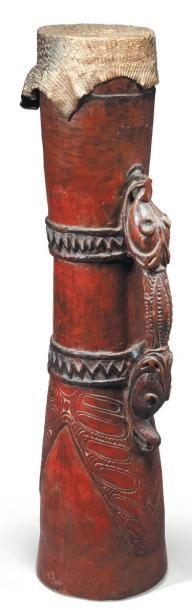TAMBOUR Sépik. Papouasie Nouvelle-Guinée...