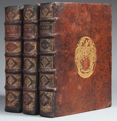 TAVERNIER (Jean Baptiste) Les Six Voyages en Turquie, en Perse, et aux Indes, pendant...