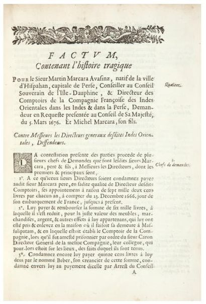 TURGOT DE SAINT-CLAIR (Antoine)