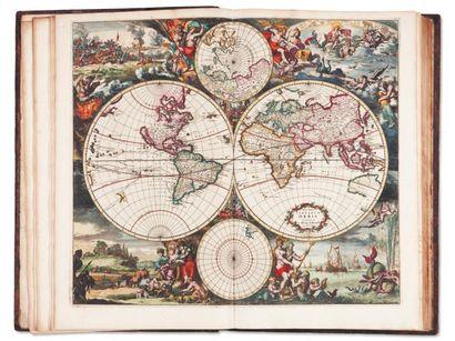[RENARD (Louis)] Atlas de la navigation, et du commerce qui se fait dans toutes les...