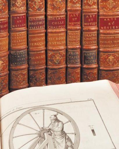 Description des arts et métiers. Paris, 1761-1776....