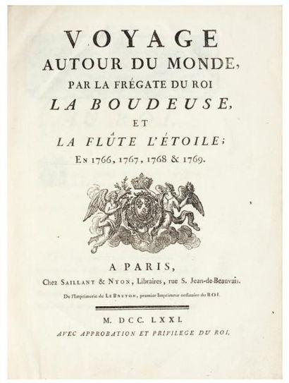 BOUGAINVILLE (Louis Antoine de)