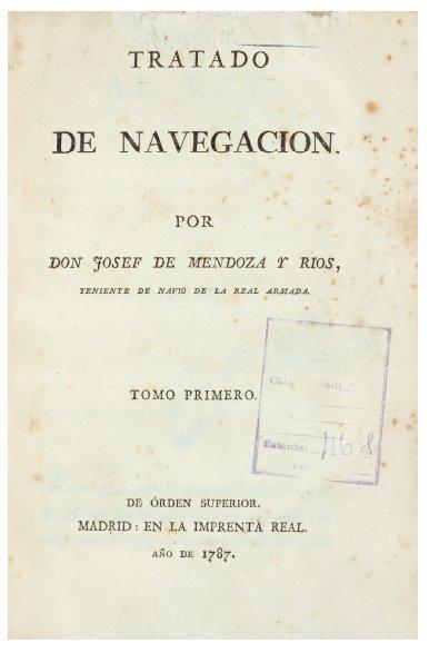 MENDOZA Y RIOS (Don Josef de)