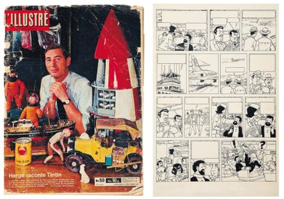 JACQUES MARTIN (1921-2010) ET BOB DE MOOR (1925-1992)