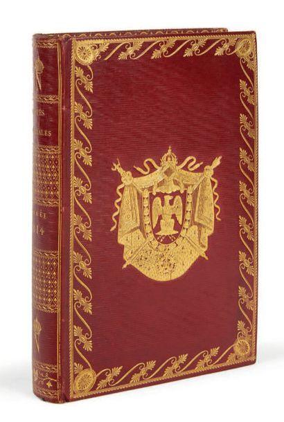 ALMANACH. Postes impériales. État général...