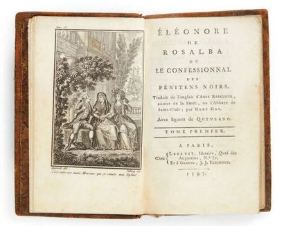 RADCLIFFE, Ann. Eleonor of Rosalba or The Confessional of the Black Penitents. Translated...
