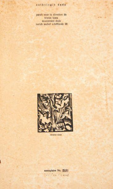 [REVUE DADA]. Anthologie Dada. Dada 4-5. Zurich, Tristan Tzara, 1919. Grand in-4...