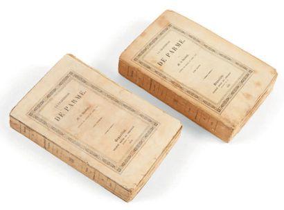 STENDHAL, Henri Beyle, dit. La Chartreuse de Parme. Bruxelles, société belge de librairie,...
