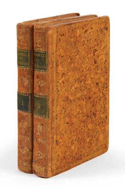 WALPOLE, Horace. Isabelle et Théodore, histoire traduite de l'anglais. Paris, Lepetit,...