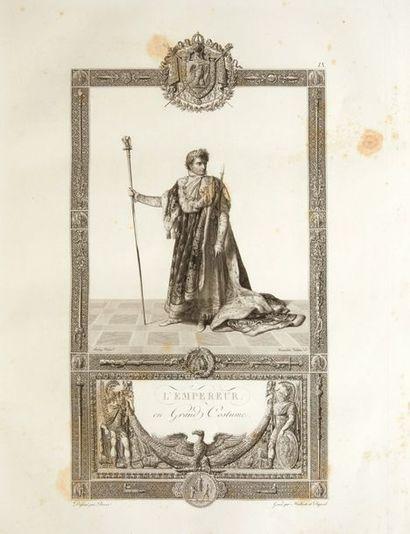 [FONTAINE, Pierre-François-Léonard & PERCIER, Charles].