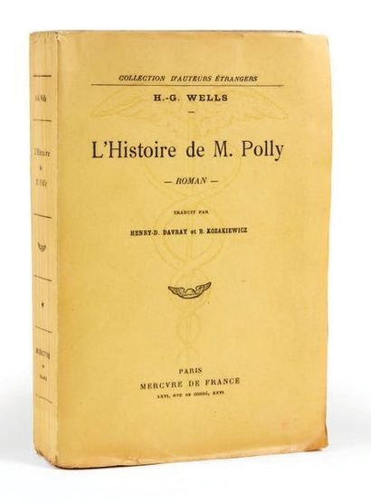 WELLS, Herbert George. Mr. Polly's story. Novel. Translated by Henry-D. Davray and...