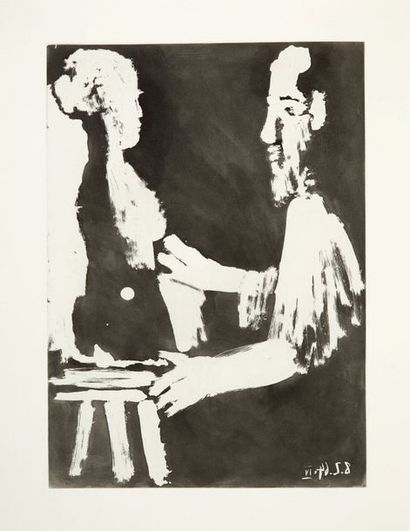 PICASSO, Pablo. REVERDY, Pierre. Moving Sand. S.l. (Paris), Louis Broder, n.d. (1966)...