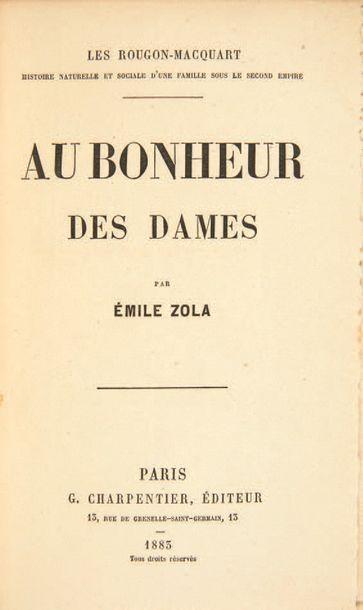ZOLA, Emile.