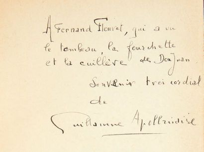 APOLLINAIRE, Guillaume.