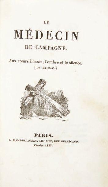 BALZAC, Honoré de.
