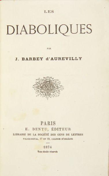 BARBEY D'AUREVILLY, Jules.