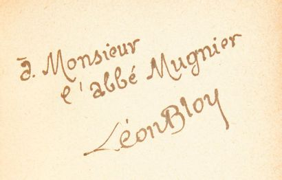 BLOY, Léon.