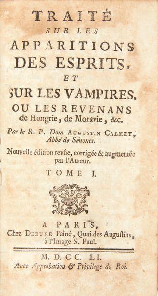 CALMET, Antoine Augustin.