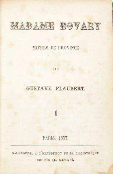 FLAUBERT, Gustave.