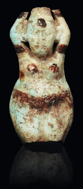 Talisman d'heureuse maternité. Figurine fragmentaire...