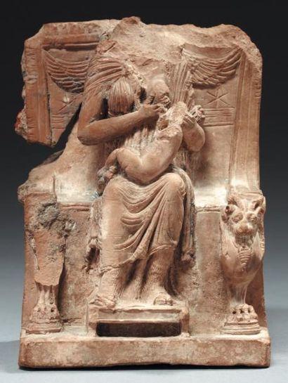 Isis lactans. Statuette représentant la déesse...