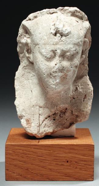 Modèle de sculpteur représentant la tête...
