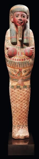 Ptah-Sokar-Osiris. Exceptionnelle statue...