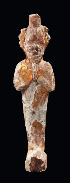 Figurine représentant le dieu Osiris. Il...