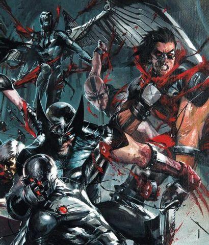 GABRIELE DELL'OTTO (1973) Wolverine, Splash page, X-Force: Sex & Violence #3, 100%...