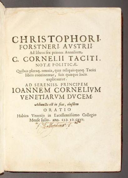 FORSTNER (Christophe)