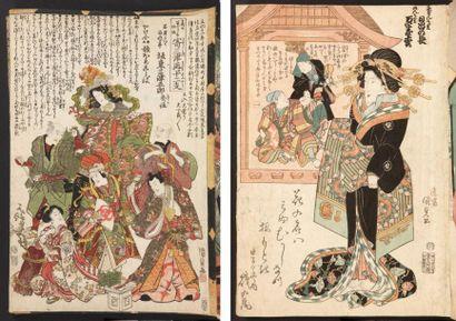 Livres d'estampes japonaises (environ 54...