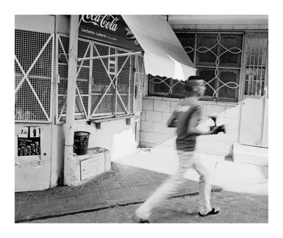 Leo RUB INFIEN In the Petit Socco, Tangier, 2010 Ink-jet print on watercolor paper,...
