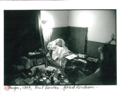 Gérard RONDEAU Paul Bowles, Tanger, 1997 Tirage argentique H_24 cm L_30 cm Provenance:...
