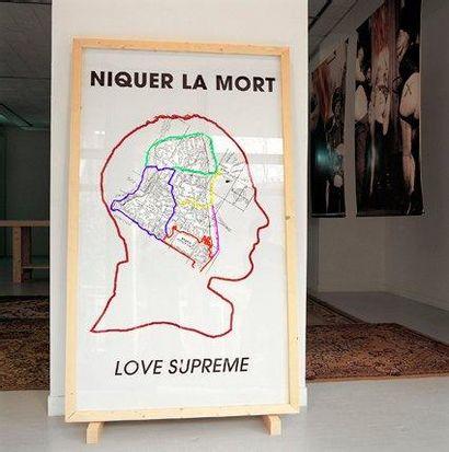 Mohamed EL BAZ Lovesupreme, 2011 C-Print H_40 cm L_40 cm Provenance: Don de l'ar...