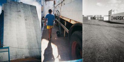 Omar YOUSSOUFI Tanger, juin 2001- Photographies et montage réalisés dans le cadre...