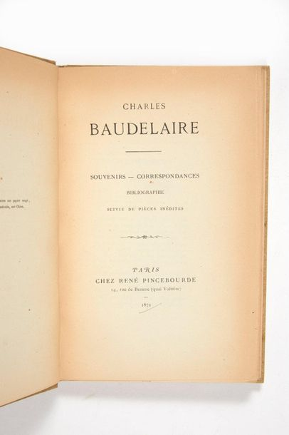 BAUDELAIRE, Charles.