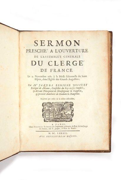 BOSSUET, Jacques-Bénigne.