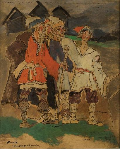 CONSTANTIN ALEKSEÏEVICH KOROVINE (1861-1939)