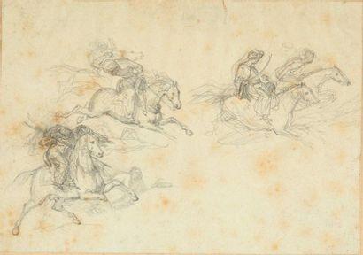 Attribué à Eugène DELACROIX (1798-1863)