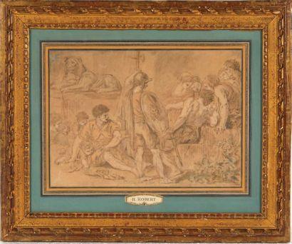 Attribué à Hubert ROBERT (1733-1808)
