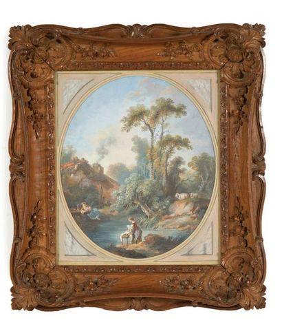 ATTRIBUÉ À PIERRE-ADRIEN PARIS (1745-1819)