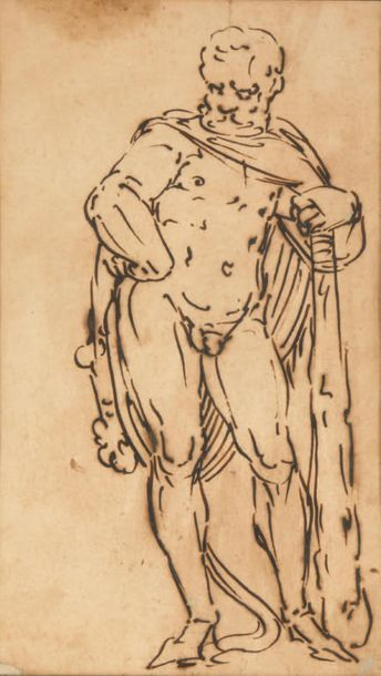 ATTRIBUÉ À LUCA CAMBIASO (1527-1585)