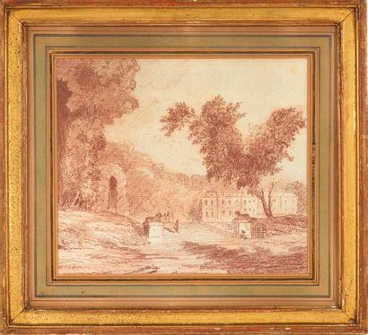 ATTRIBUÉ À HUBERT ROBERT (1733-1806)