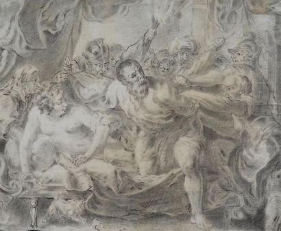 ÉCOLE FRANÇAISE DU XVIIIE SIÈCLE D'APRÈS PIERRE PAUL RUBENS